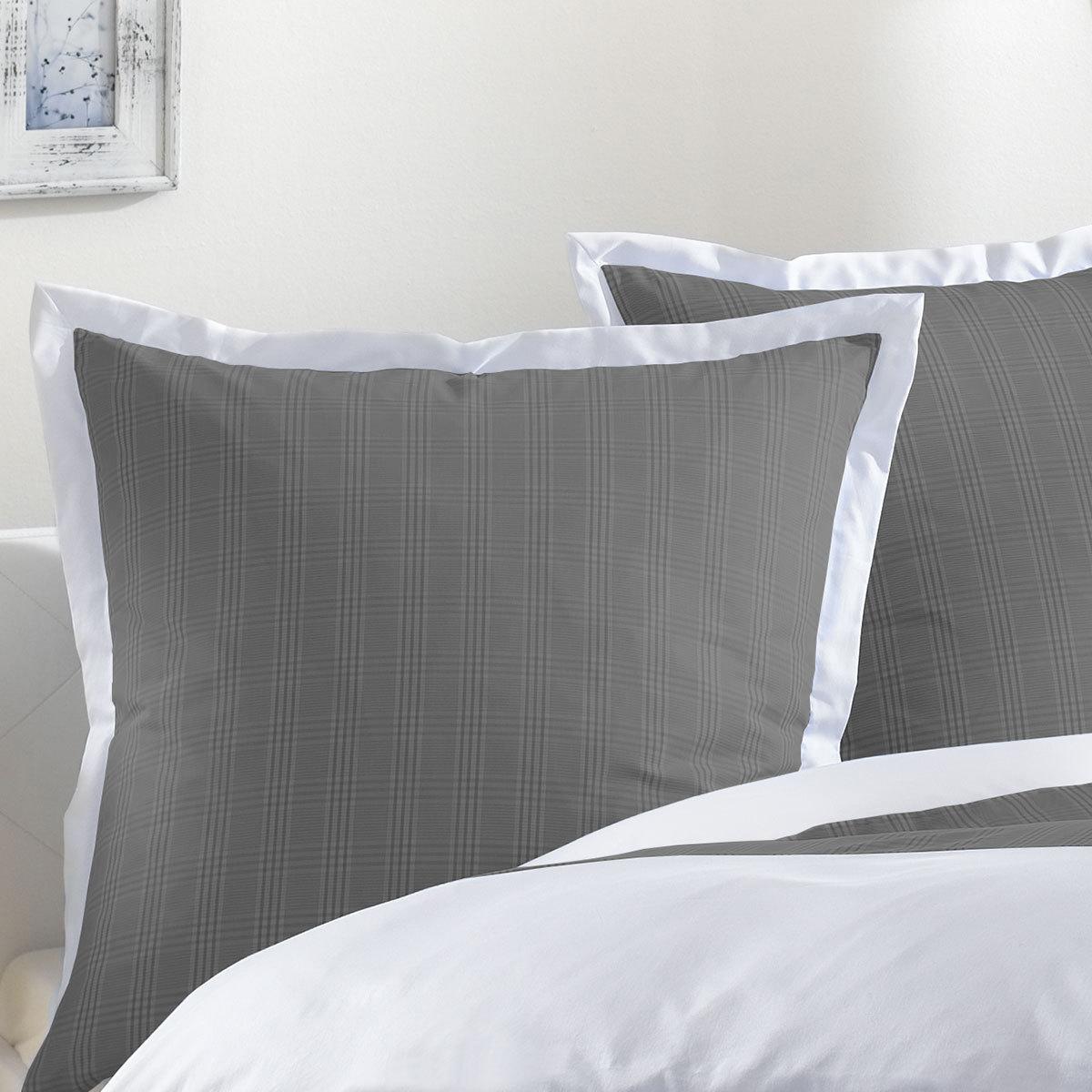 lorena mako perkal bettw sche denver anthrazit g nstig online kaufen bei bettwaren shop. Black Bedroom Furniture Sets. Home Design Ideas