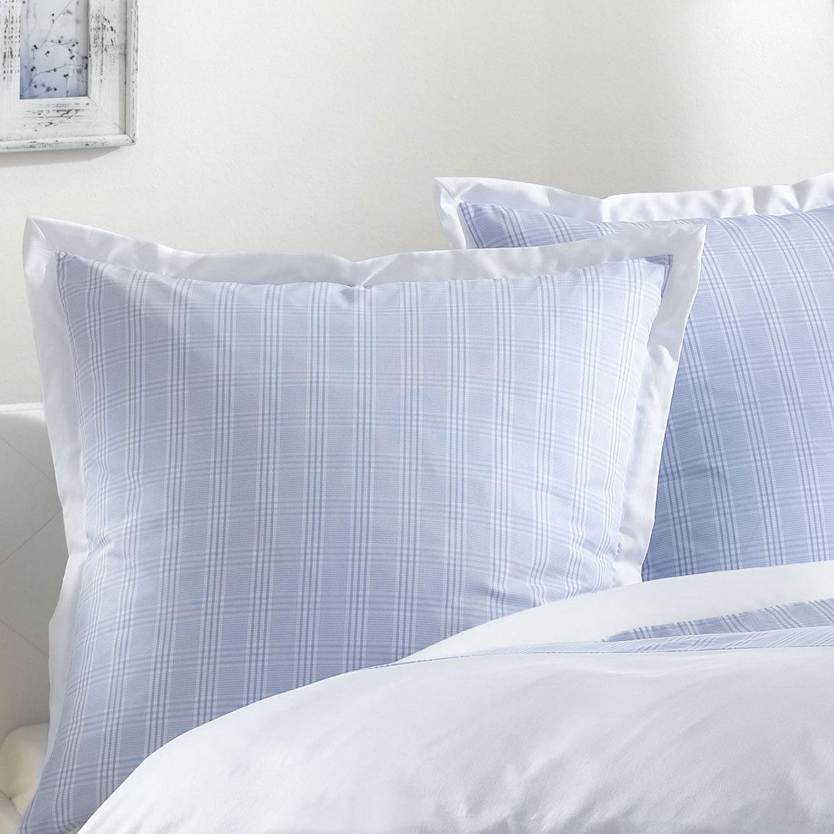 lorena mako perkal bettw sche denver bleu g nstig online. Black Bedroom Furniture Sets. Home Design Ideas