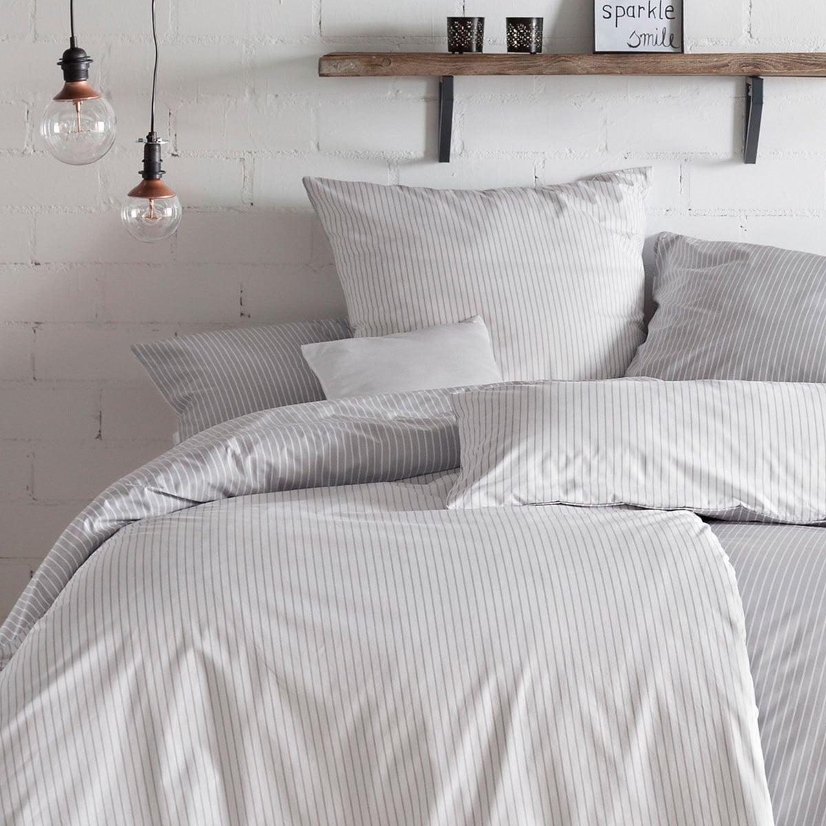 estella mako perkal wendebettw sche ronda silber g nstig online kaufen bei bettwaren shop. Black Bedroom Furniture Sets. Home Design Ideas