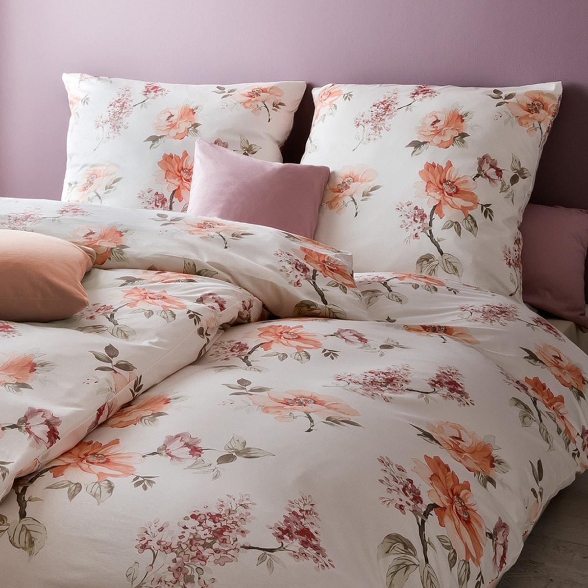 estella mako satin bettw sche 7028 390 lachs g nstig online kaufen bei bettwaren shop. Black Bedroom Furniture Sets. Home Design Ideas