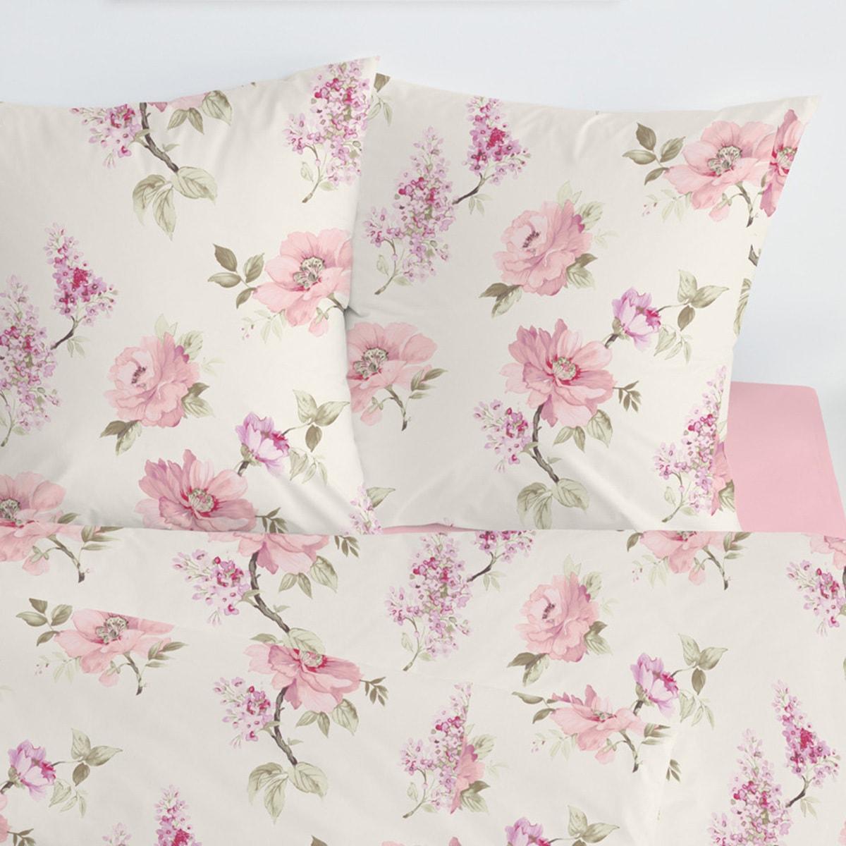 estella mako satin bettw sche 7028 400 rosa g nstig online. Black Bedroom Furniture Sets. Home Design Ideas