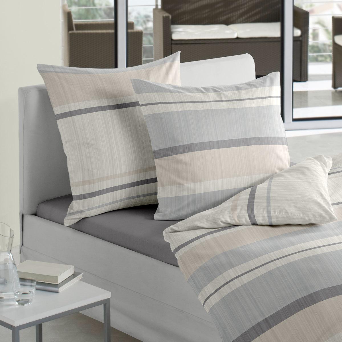 traumschlaf mako satin bettw sche basic g nstig online. Black Bedroom Furniture Sets. Home Design Ideas