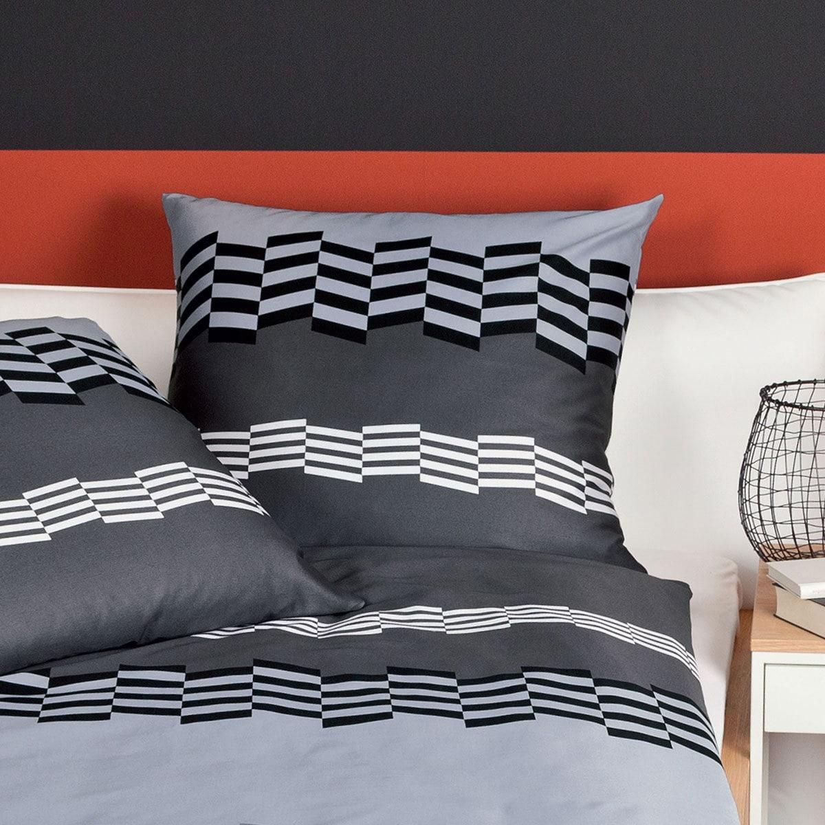janine mako satin bettw sche j d 87011 08 titan g nstig online kaufen bei bettwaren shop. Black Bedroom Furniture Sets. Home Design Ideas