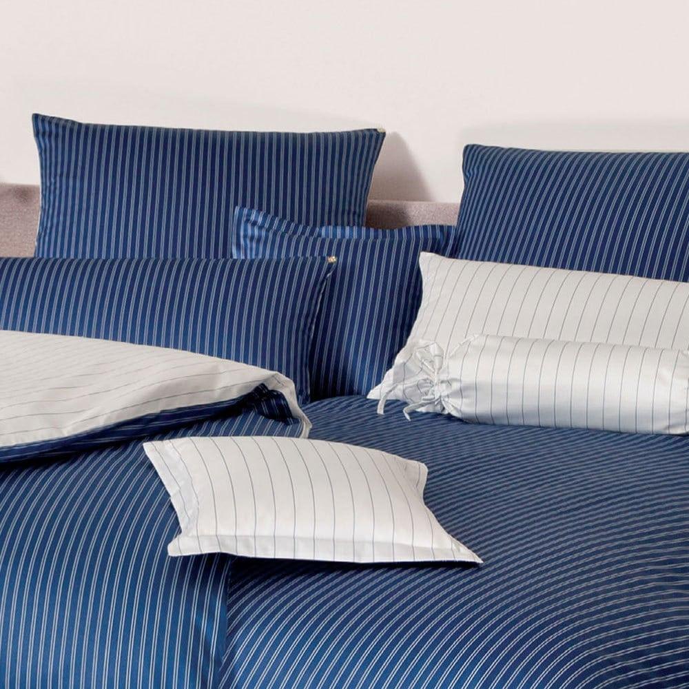 Bettwäsche Modern mako satin bettwäsche modern dunkelblau günstig