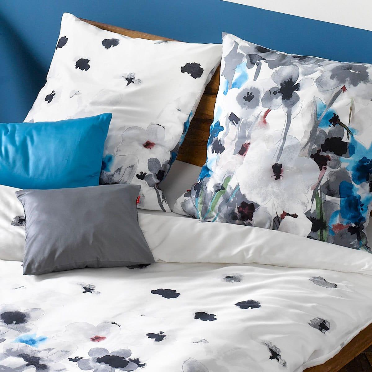 fleuresse mako satin bettw sche modern garden 113687 0007. Black Bedroom Furniture Sets. Home Design Ideas