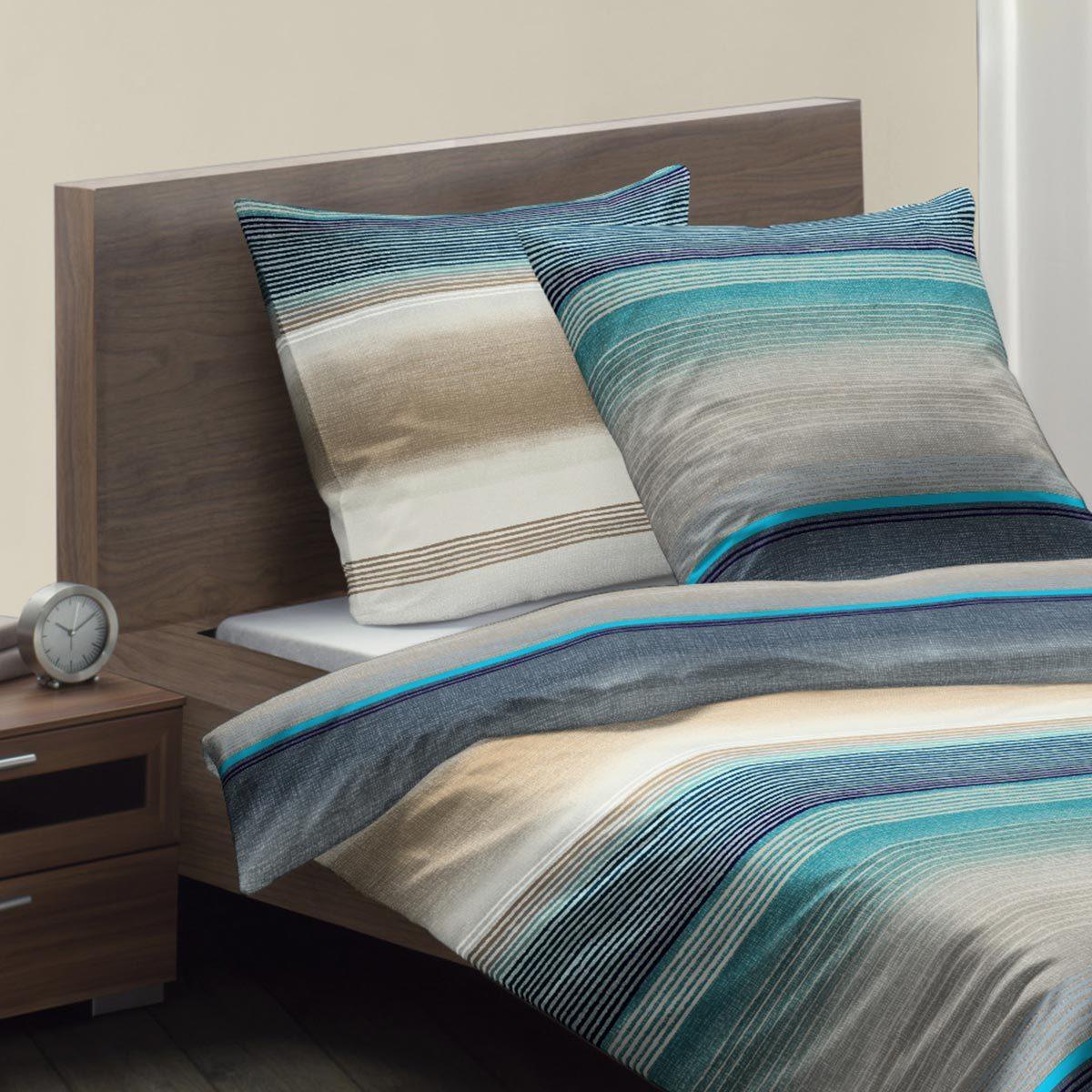 fleuresse mako satin bettw sche modern life 113511 0002 g nstig online kaufen bei bettwaren shop. Black Bedroom Furniture Sets. Home Design Ideas