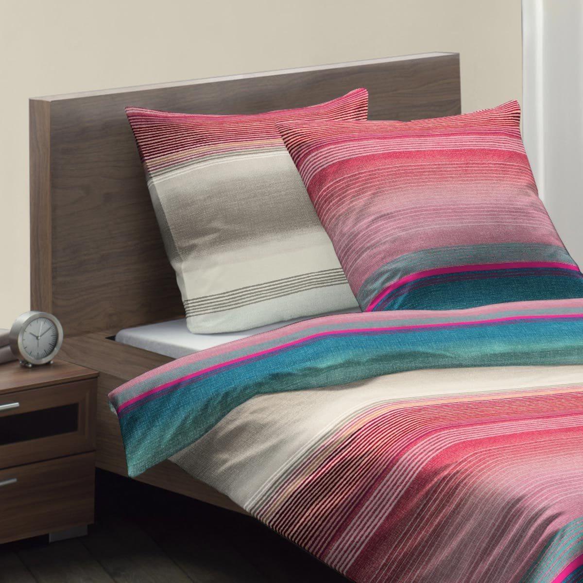 fleuresse mako satin bettw sche modern life 113511 0006. Black Bedroom Furniture Sets. Home Design Ideas