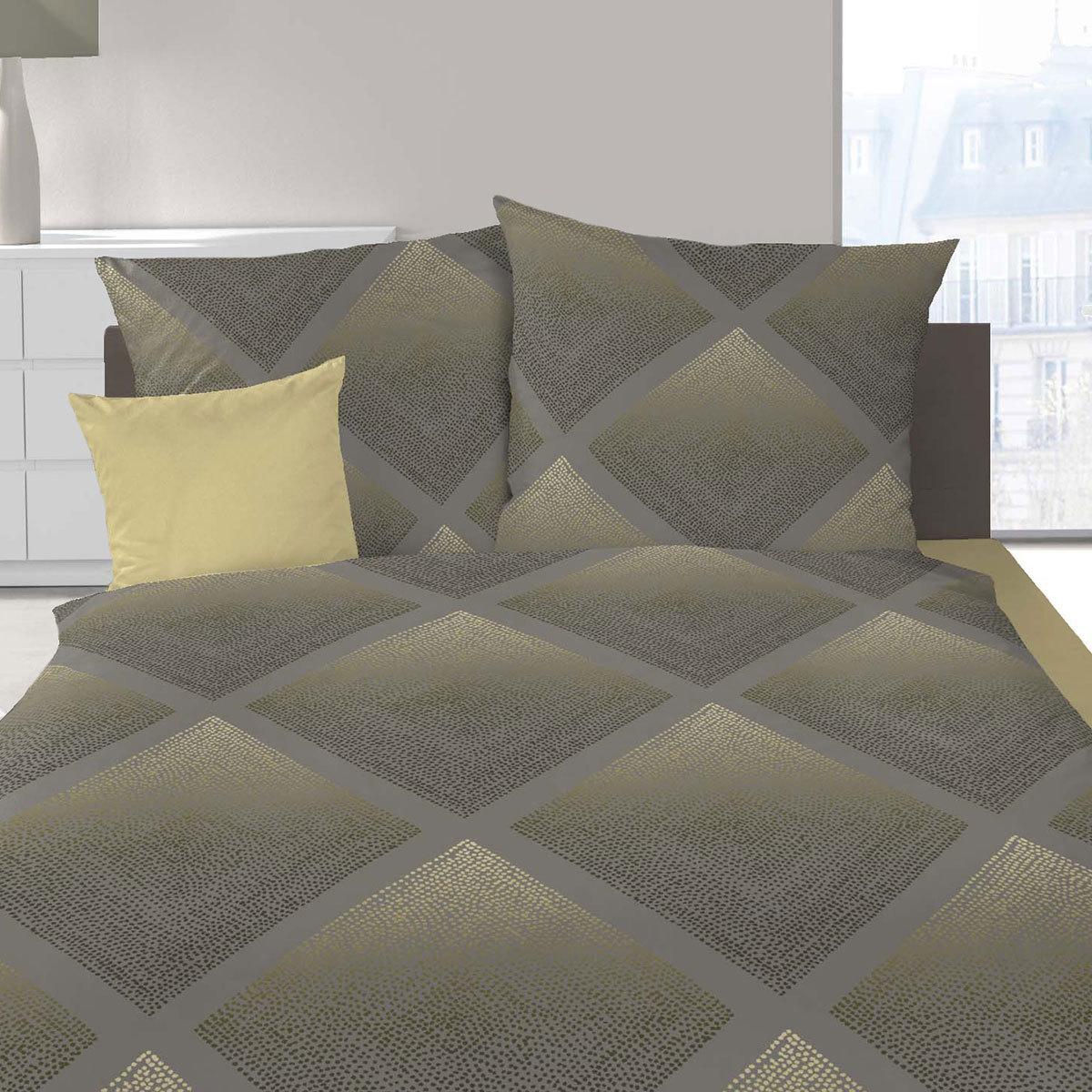 schlafgut mako satin bettw sche romba moos g nstig online kaufen bei bettwaren shop. Black Bedroom Furniture Sets. Home Design Ideas