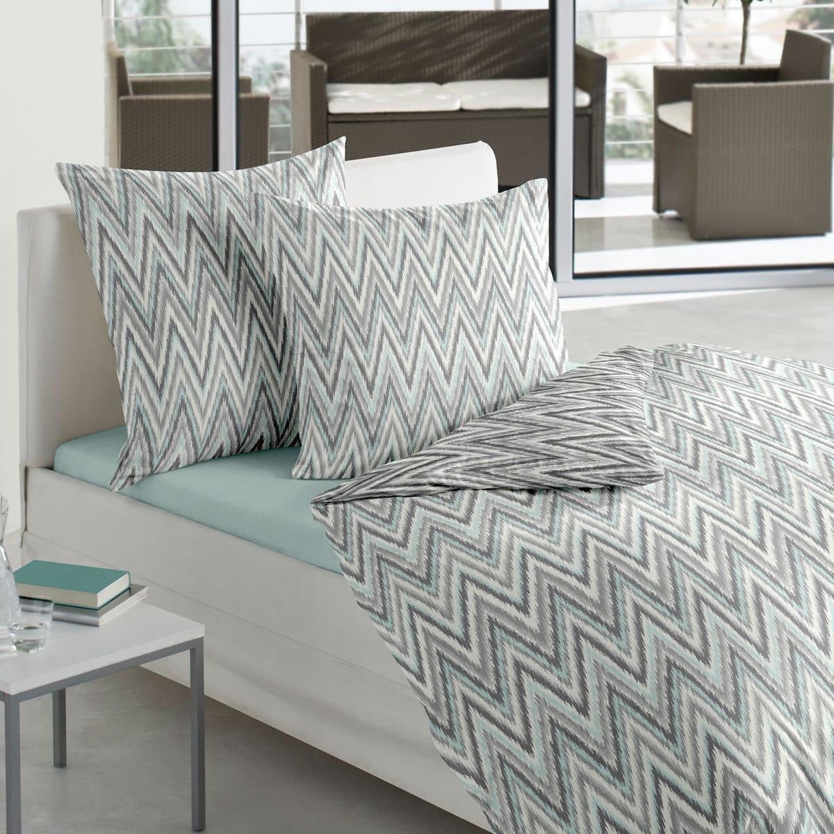 bierbaum mako satin bettw sche smail 6985 g nstig online kaufen bei bettwaren shop. Black Bedroom Furniture Sets. Home Design Ideas