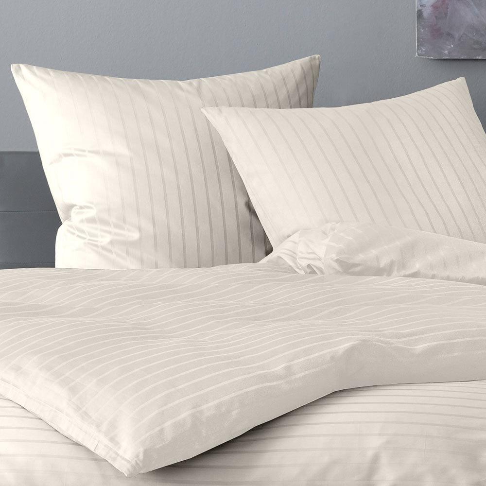 lorena mako satin bettw sche verona natur g nstig online. Black Bedroom Furniture Sets. Home Design Ideas