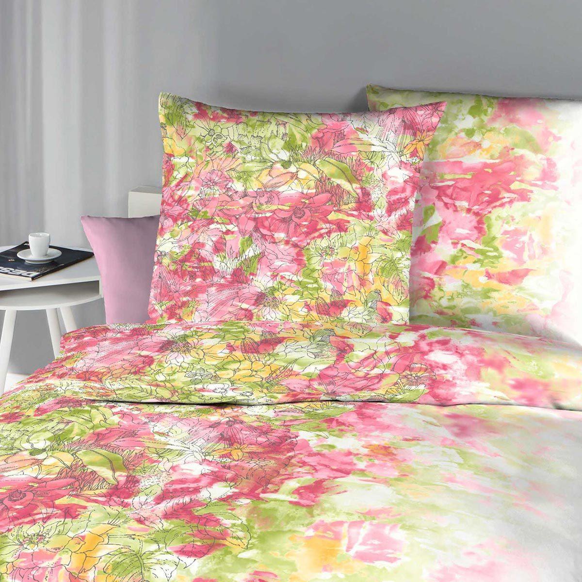 kaeppel mako satin bettw sche wild paradise bunt g nstig online kaufen bei bettwaren shop. Black Bedroom Furniture Sets. Home Design Ideas