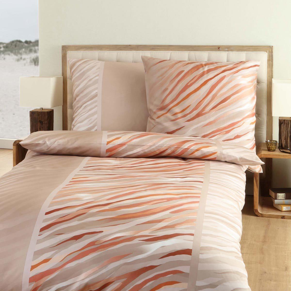 kaeppel mako satin bettw sche zola mandel g nstig online kaufen bei bettwaren shop. Black Bedroom Furniture Sets. Home Design Ideas