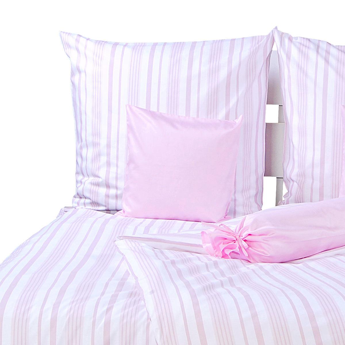 momm perkal bettw sche adela rosa g nstig online kaufen bei bettwaren shop. Black Bedroom Furniture Sets. Home Design Ideas