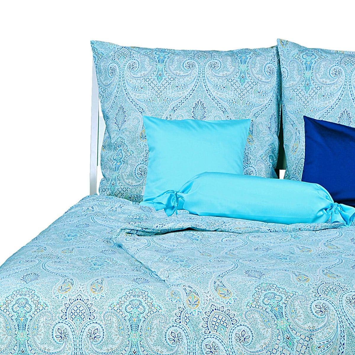momm perkal bettw sche adora t rkis g nstig online kaufen bei bettwaren shop. Black Bedroom Furniture Sets. Home Design Ideas