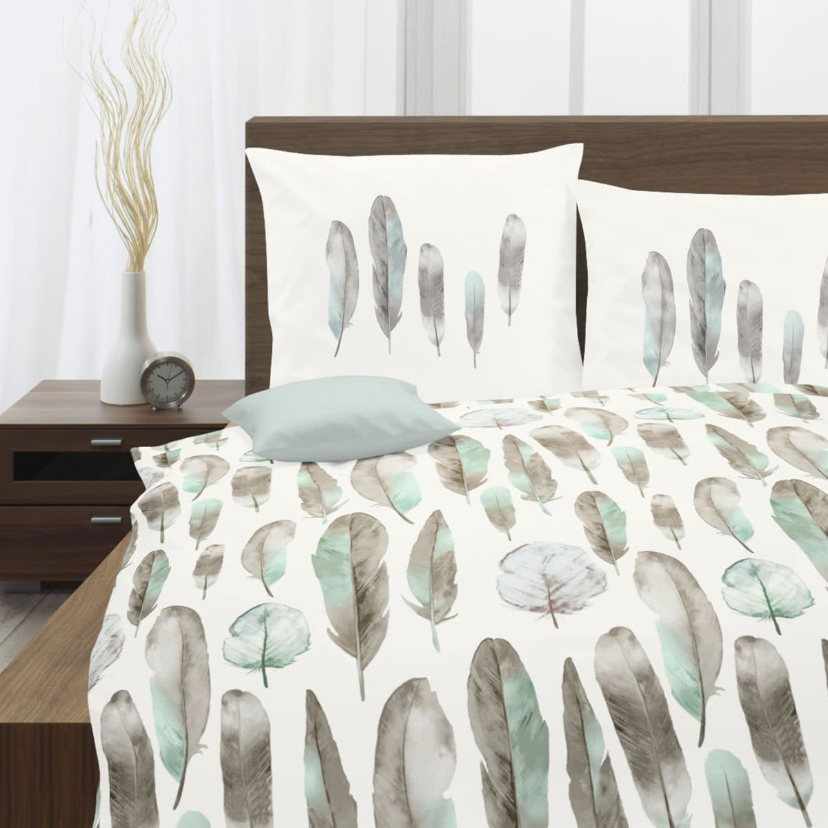 traumschlaf renforc bettw sche federn mint g nstig online kaufen bei bettwaren shop. Black Bedroom Furniture Sets. Home Design Ideas