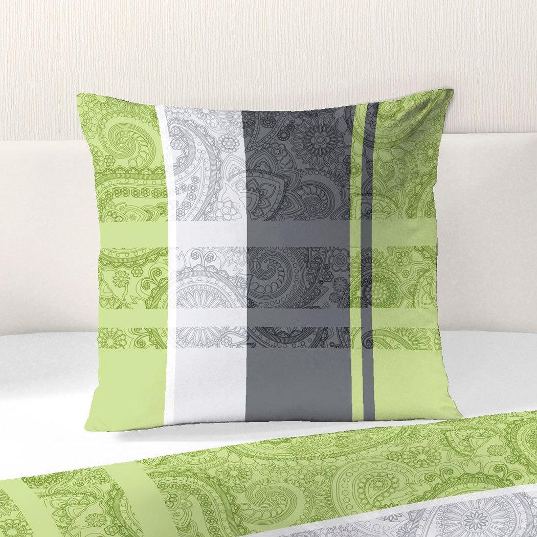 dobnig renforc bettw sche ornamente gr n g nstig online kaufen bei bettwaren shop. Black Bedroom Furniture Sets. Home Design Ideas