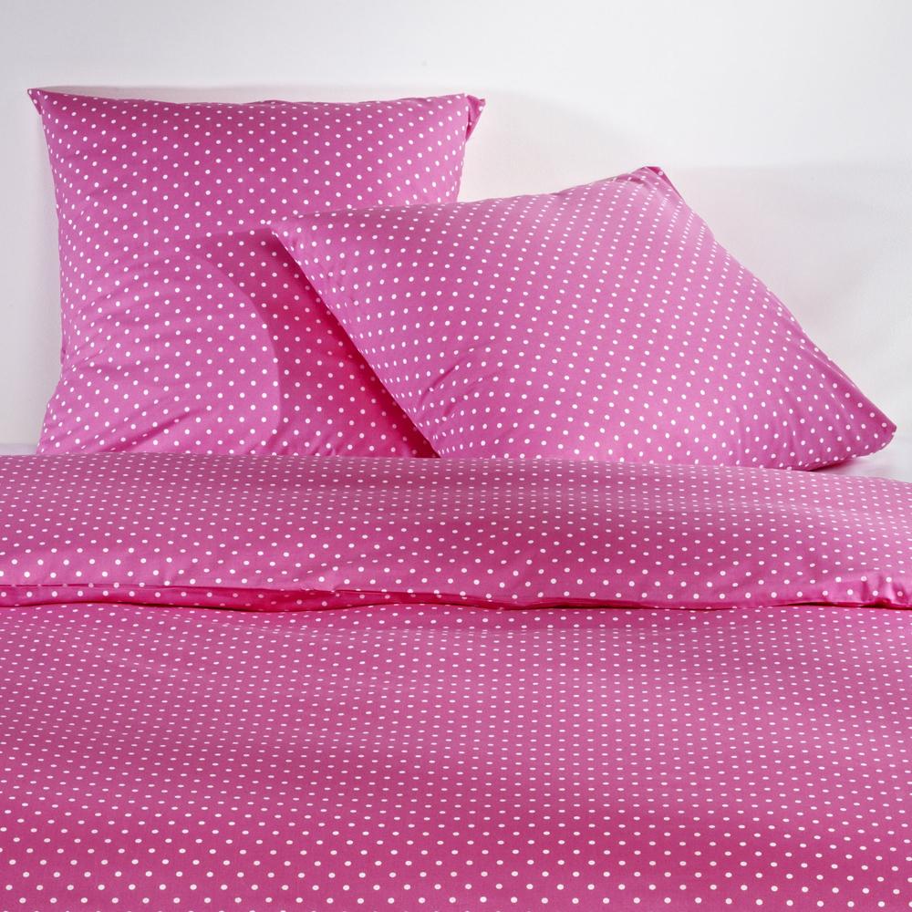 mistral home renforc bettw sche polka dots pink g nstig online kaufen bei bettwaren shop. Black Bedroom Furniture Sets. Home Design Ideas