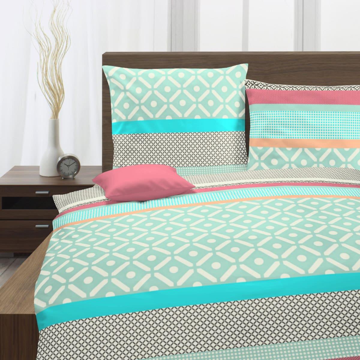 traumschlaf seersucker bettw sche summer t rkis g nstig online kaufen bei bettwaren shop. Black Bedroom Furniture Sets. Home Design Ideas