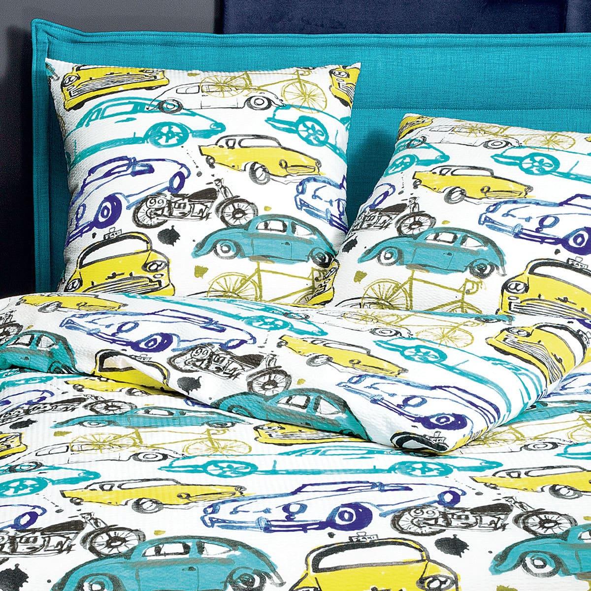janine seersucker bettw sche tango 20010 02 aquablau g nstig online kaufen bei bettwaren shop. Black Bedroom Furniture Sets. Home Design Ideas