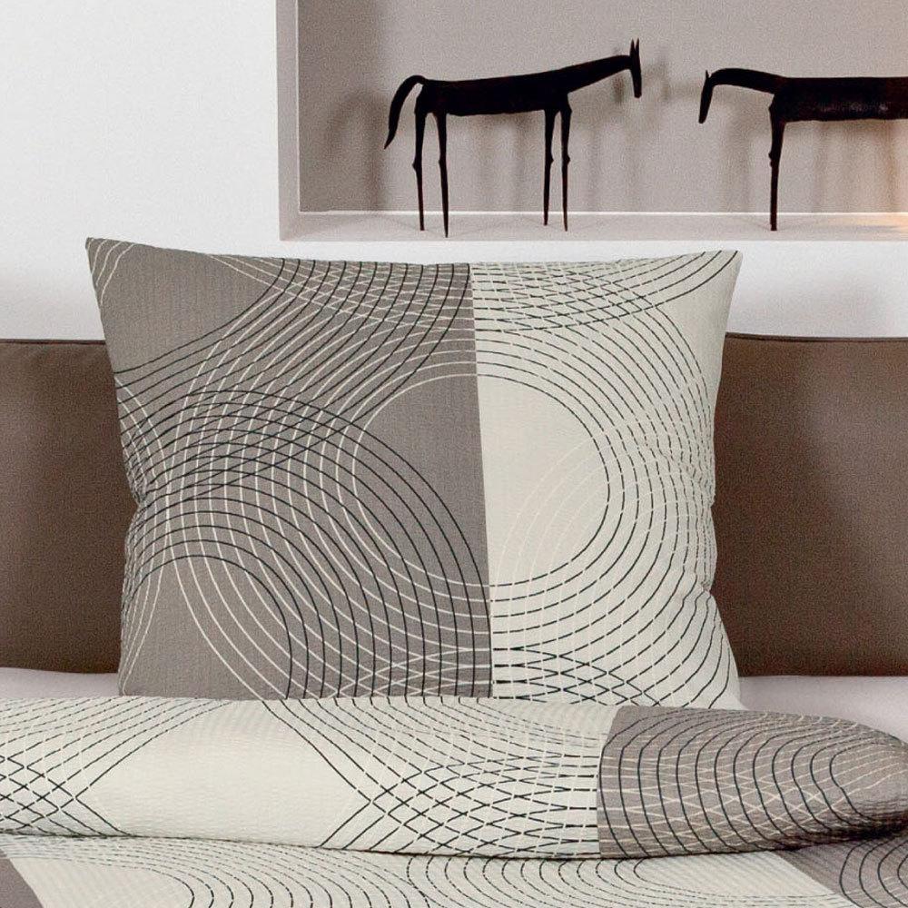 janine seersucker bettw sche tango 2411 07 taupe g nstig. Black Bedroom Furniture Sets. Home Design Ideas