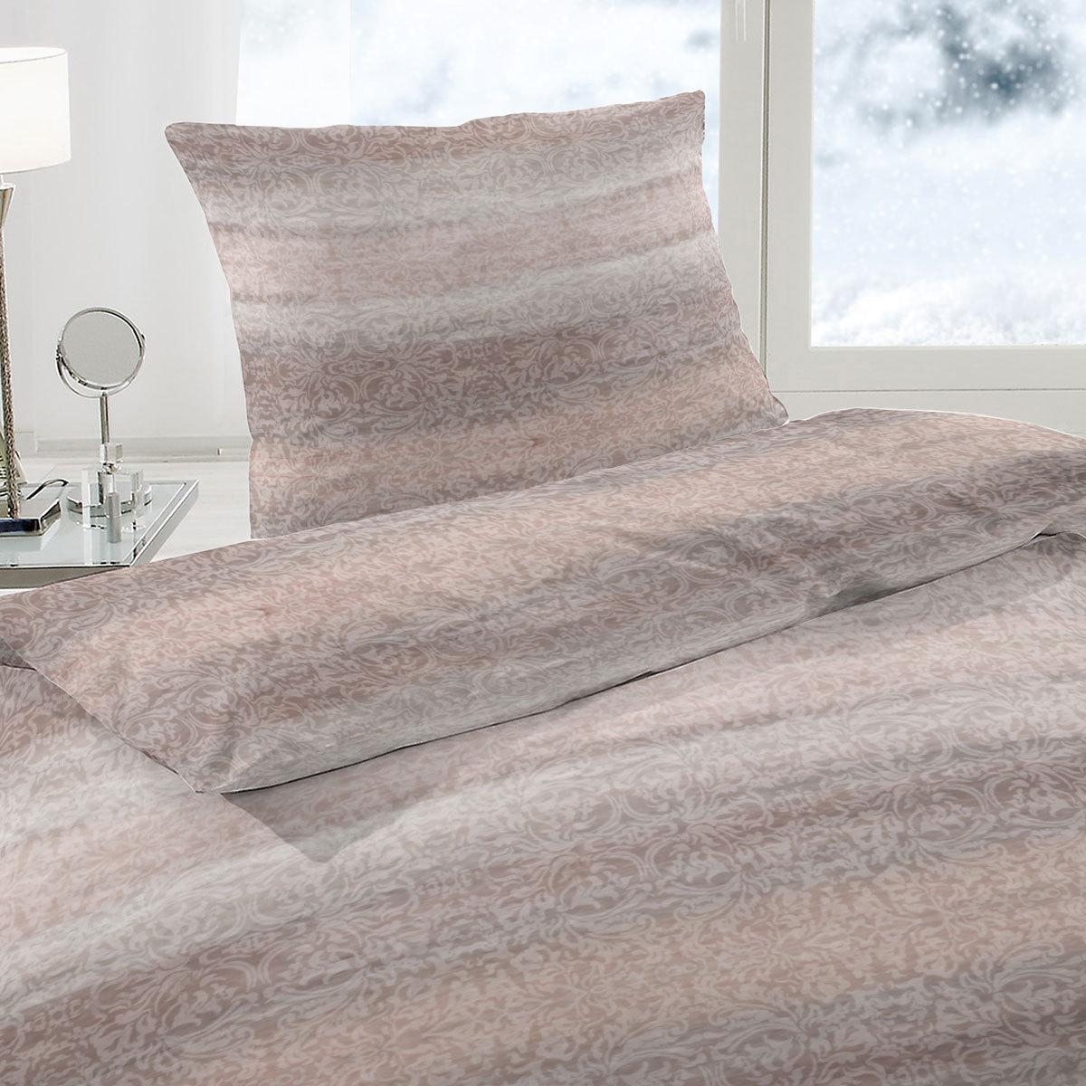 enrico coss soft jersey bettw sche oslo braun g nstig online kaufen bei bettwaren shop. Black Bedroom Furniture Sets. Home Design Ideas