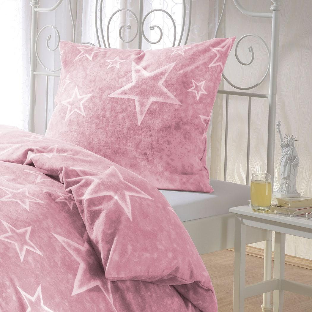 bettwarenshop sterne bettw sche rosenquarz g nstig online kaufen bei bettwaren shop. Black Bedroom Furniture Sets. Home Design Ideas