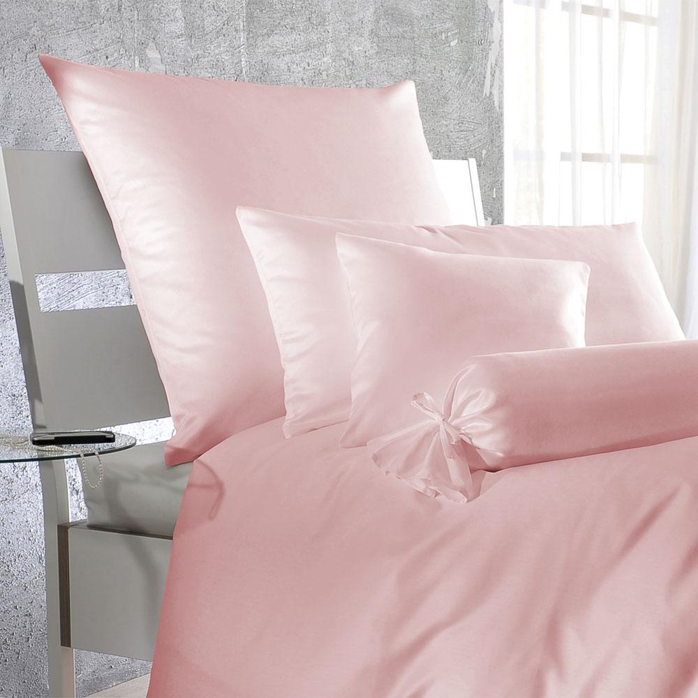 Bettwasche Satin Rosa