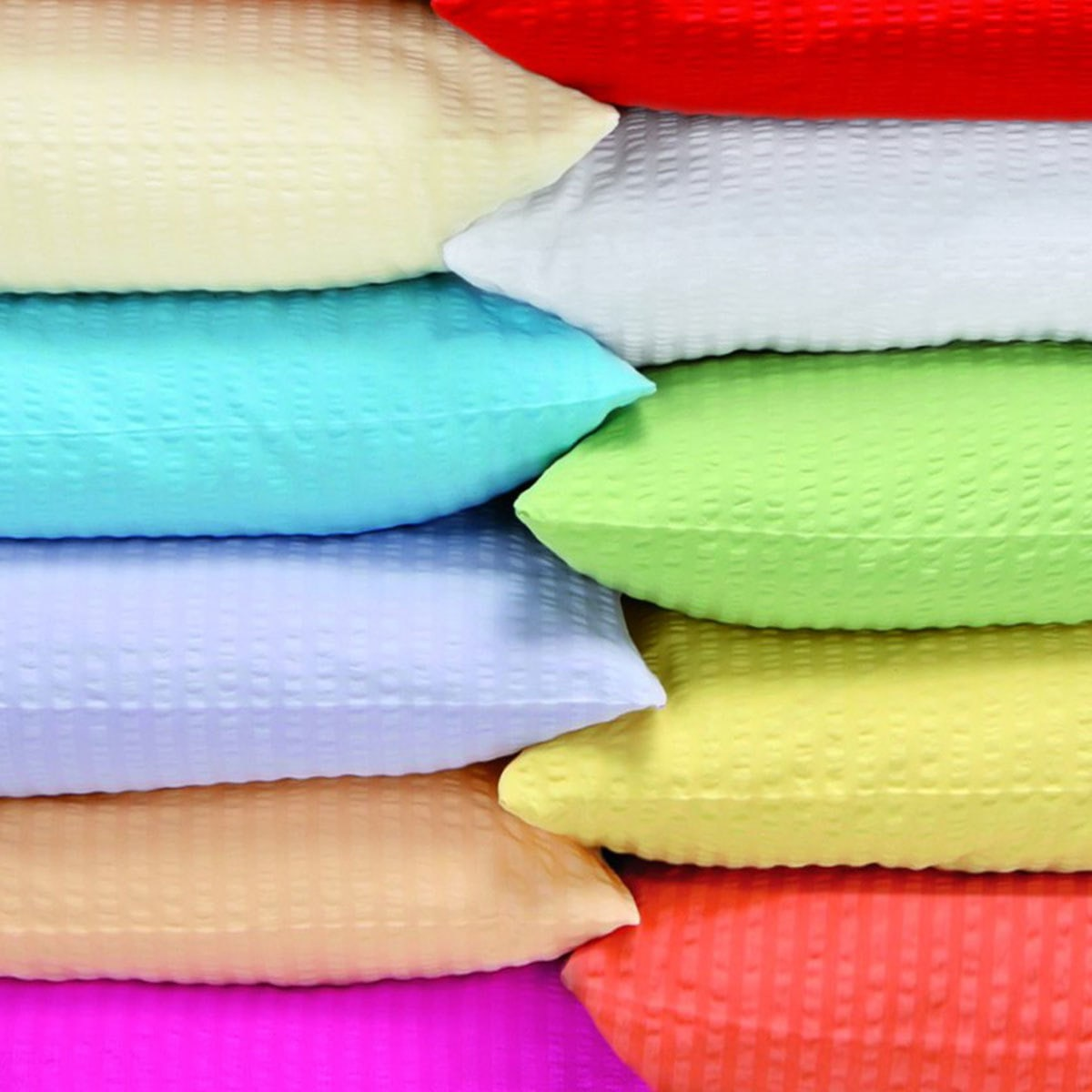 schlafgut uni seersucker bettw sche b gelfrei magnolie g nstig online kaufen bei bettwaren shop. Black Bedroom Furniture Sets. Home Design Ideas
