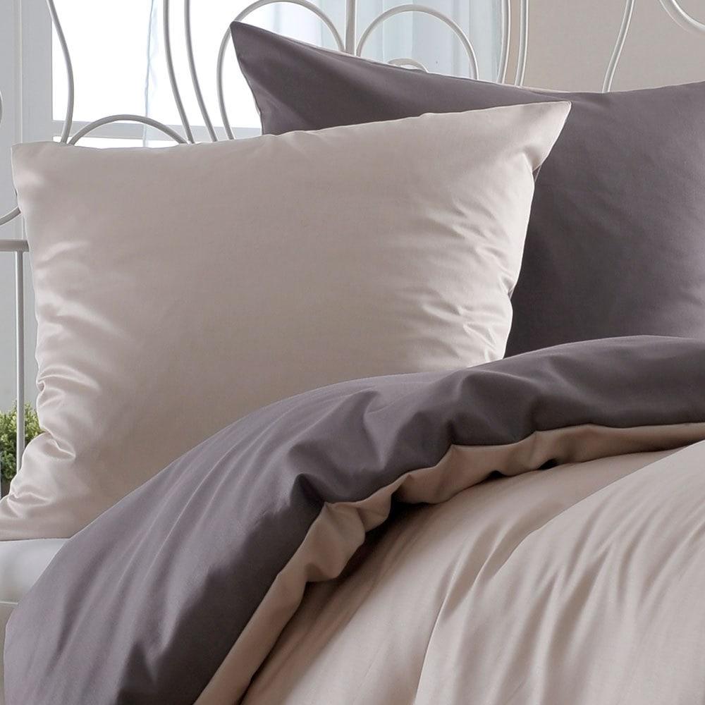 bettwarenshop uni wendebettw sche sabbia nuss g nstig online kaufen bei bettwaren shop. Black Bedroom Furniture Sets. Home Design Ideas