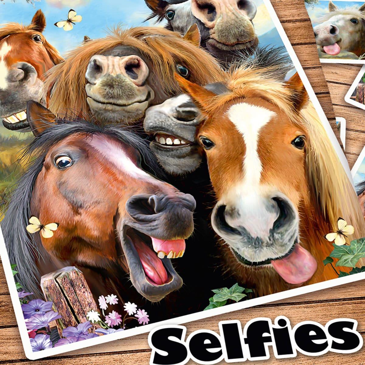 herding wendebettw sche selfies pferde g nstig online. Black Bedroom Furniture Sets. Home Design Ideas