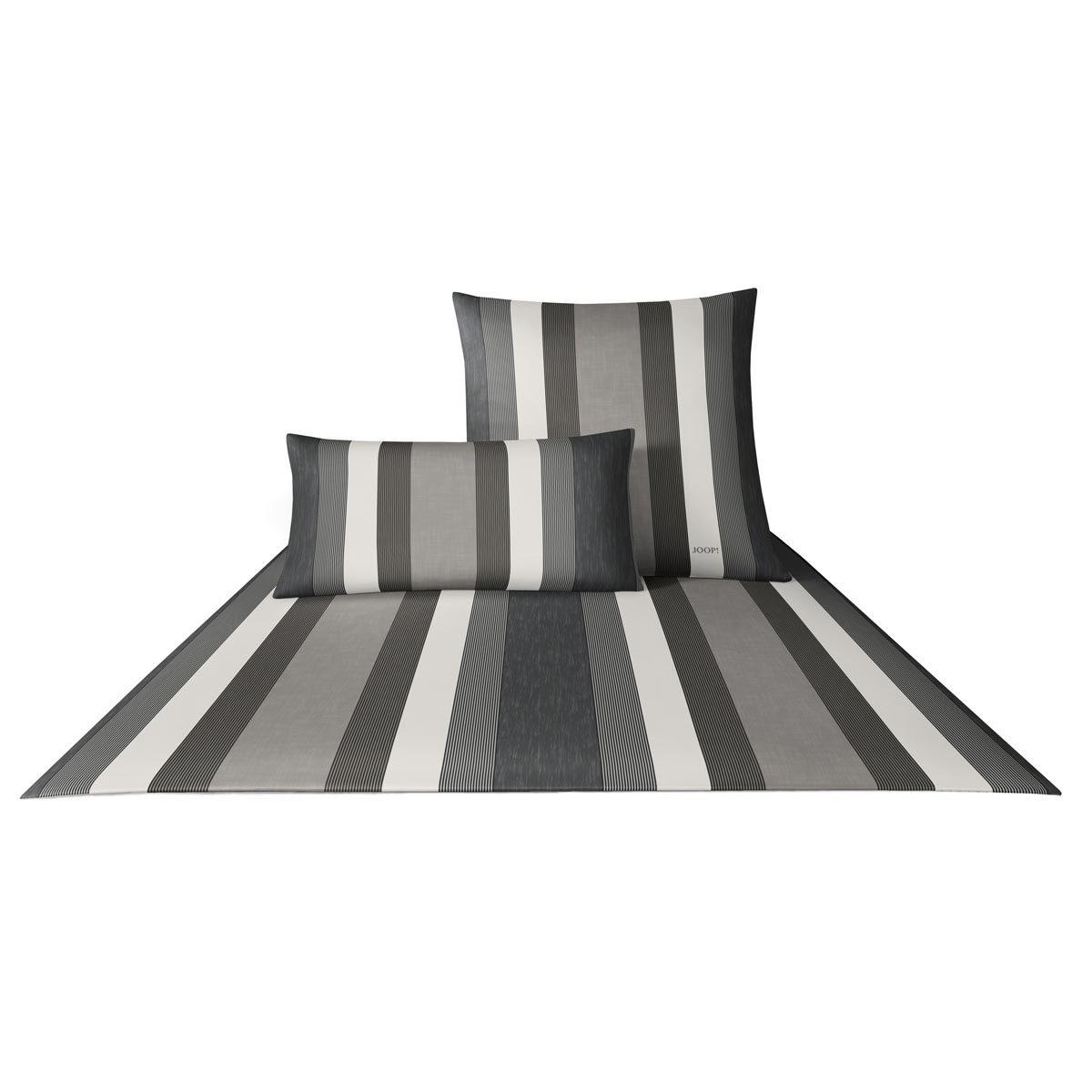 joop bettw sche rapid stripes kiesel 4043 9 g nstig online. Black Bedroom Furniture Sets. Home Design Ideas