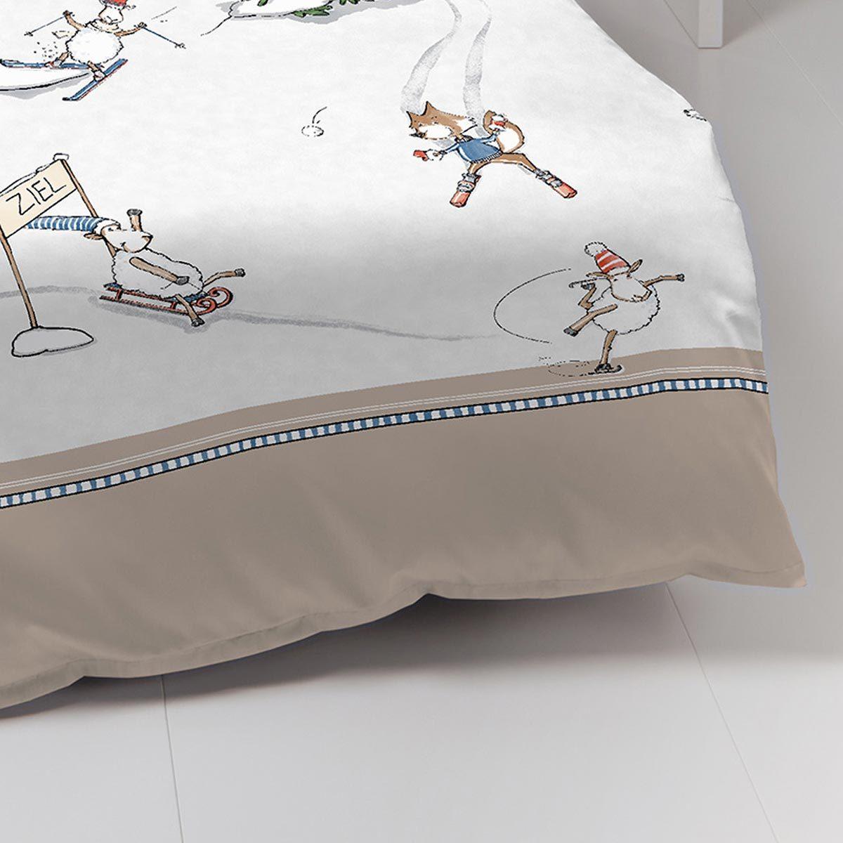 kaeppel biber bettw sche auf schnellen kufen natur g nstig. Black Bedroom Furniture Sets. Home Design Ideas