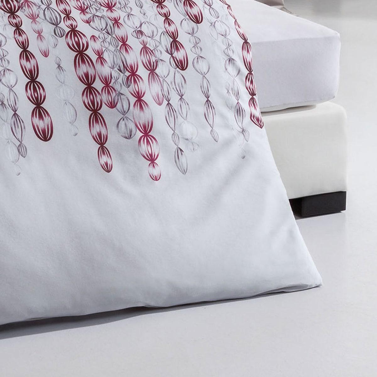 kaeppel biber bettw sche pearls burgund g nstig online kaufen bei bettwaren shop. Black Bedroom Furniture Sets. Home Design Ideas