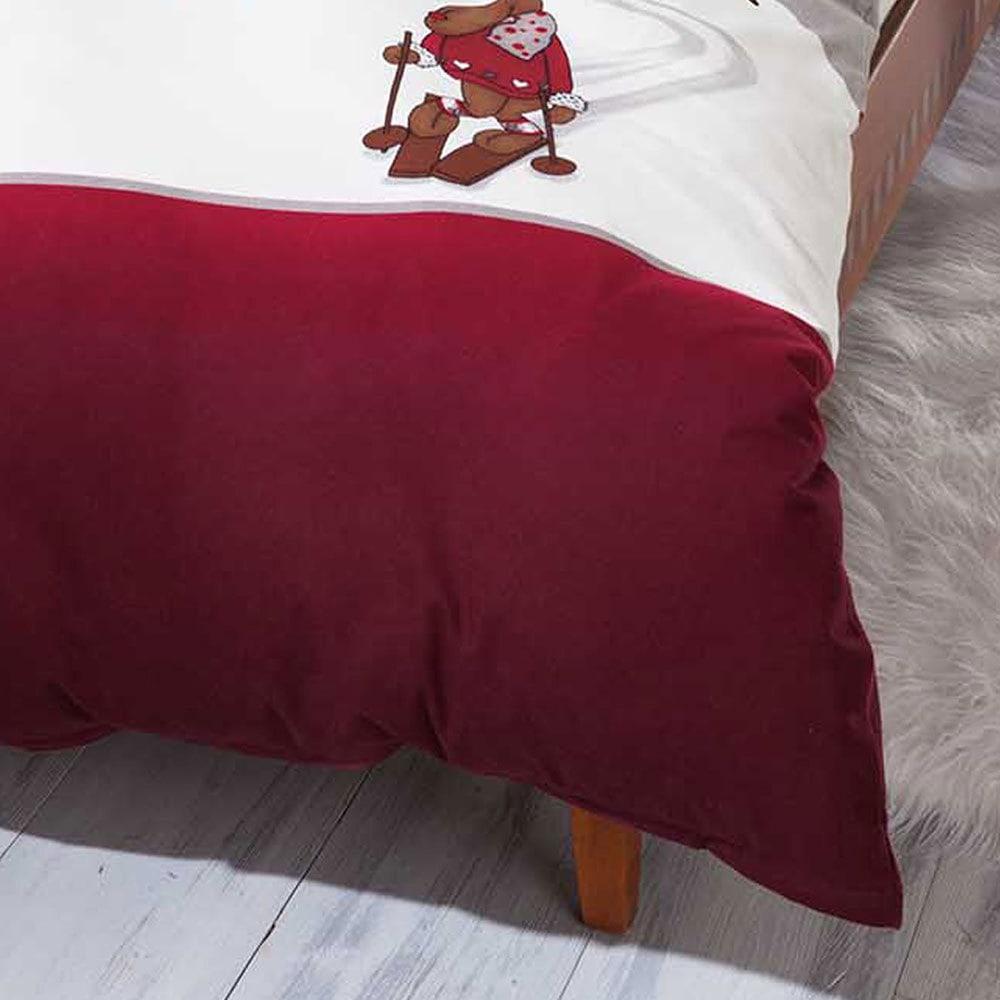 kaeppel biber bettw sche ski elch g nstig online kaufen bei bettwaren shop. Black Bedroom Furniture Sets. Home Design Ideas