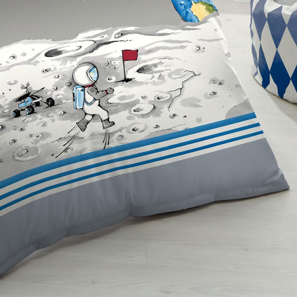 kaeppel biber kinderbettw sche astronaut g nstig online kaufen bei bettwaren shop. Black Bedroom Furniture Sets. Home Design Ideas