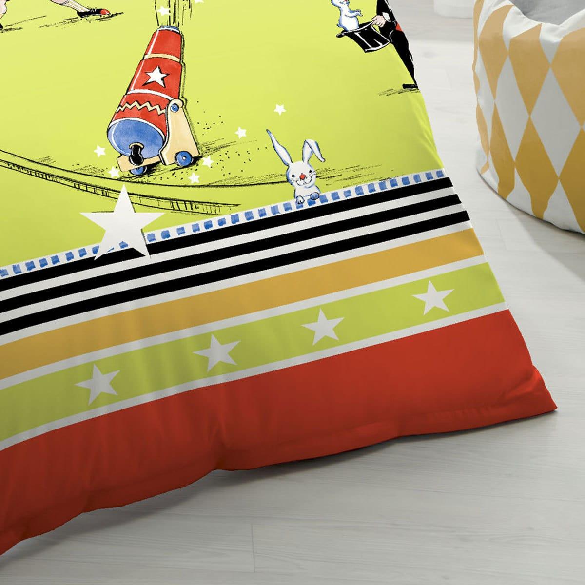 kaeppel biber kinderbettw sche zirkus g nstig online. Black Bedroom Furniture Sets. Home Design Ideas