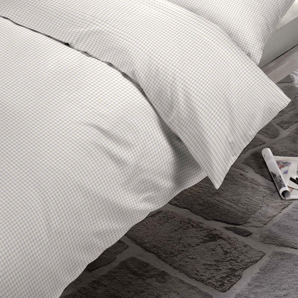 schlafgut casual cotton bettw sche starcheck sand g nstig online kaufen bei bettwaren shop. Black Bedroom Furniture Sets. Home Design Ideas