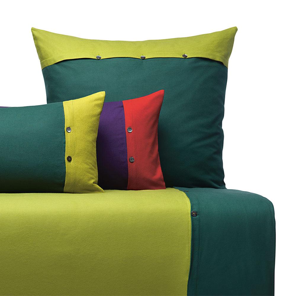 cotonea edelbiber bettw sche stella olivgr n pinie g nstig. Black Bedroom Furniture Sets. Home Design Ideas