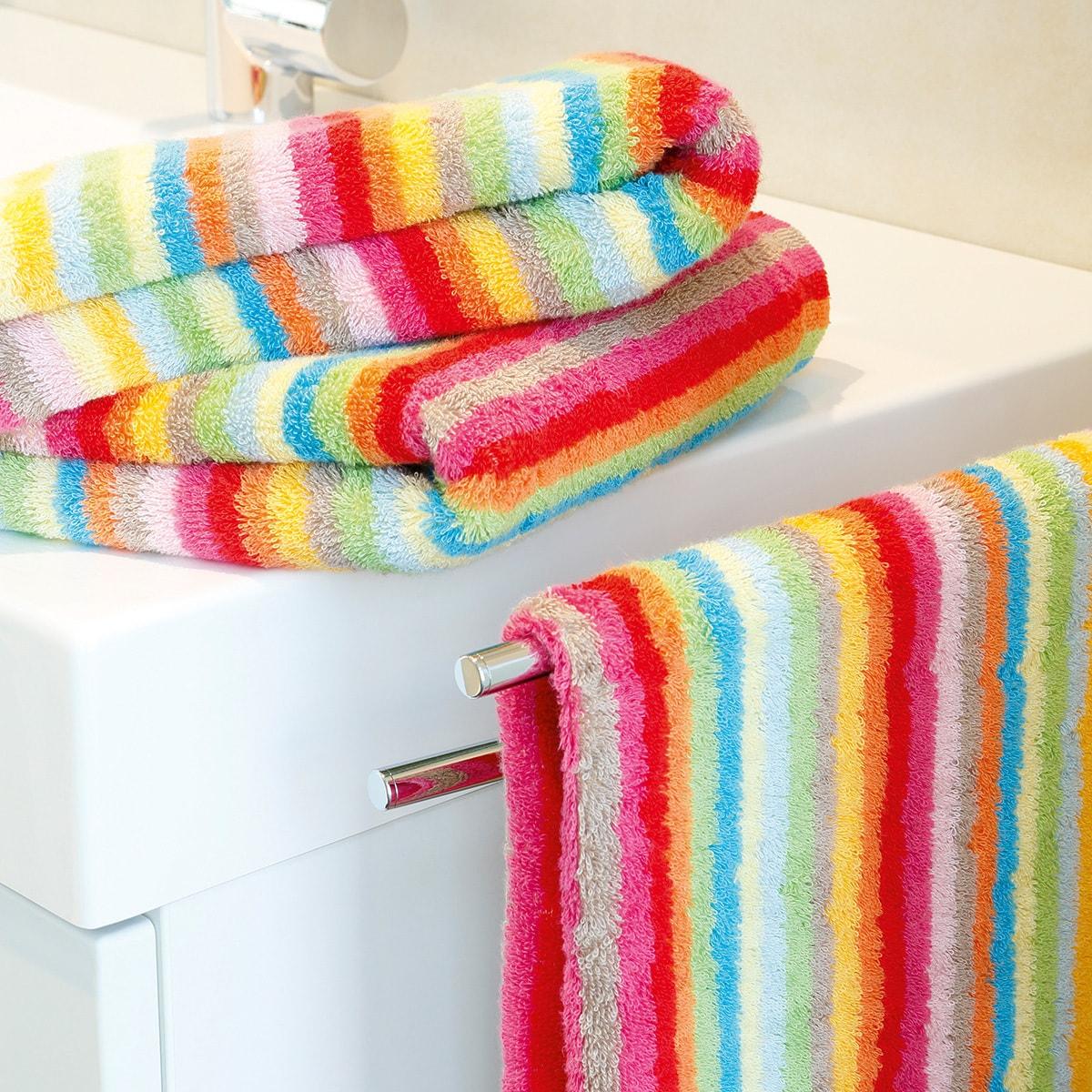 caw handt cher lifestyle streifen multicolor 84 g nstig online kaufen bei bettwaren shop. Black Bedroom Furniture Sets. Home Design Ideas