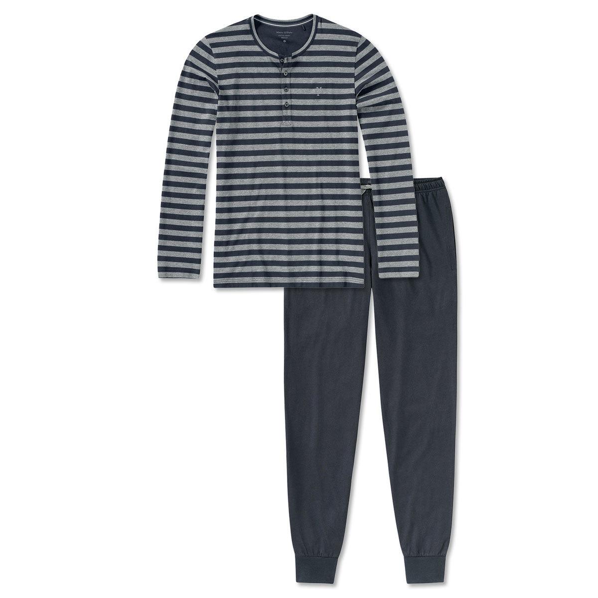 205224a31d Marc O Polo Herren Schlafanzug Pyjama grey-melange. voheriges Artikelbild  nächstes Artikelbild