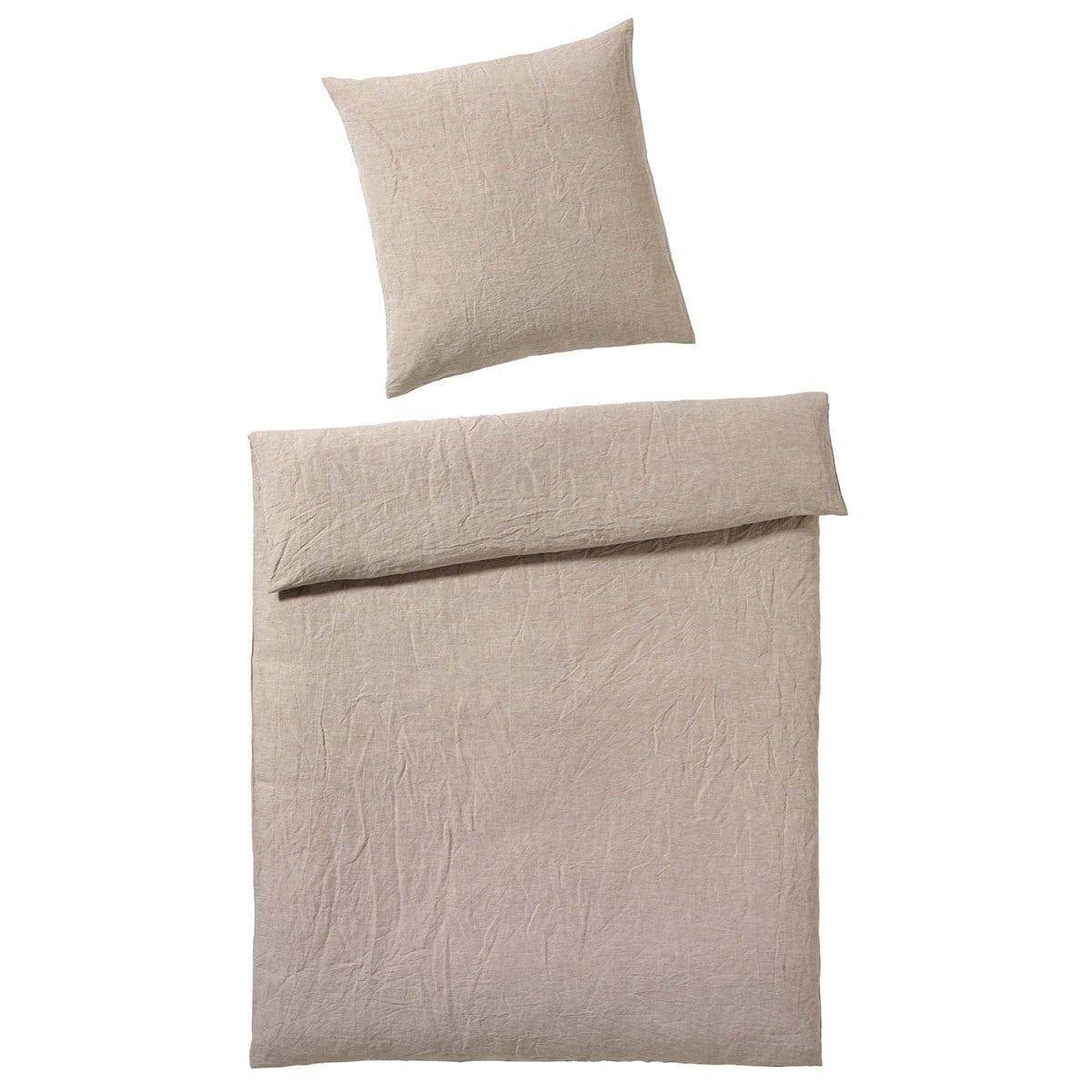 elegante leinen bettw sche breeze sand g nstig online. Black Bedroom Furniture Sets. Home Design Ideas