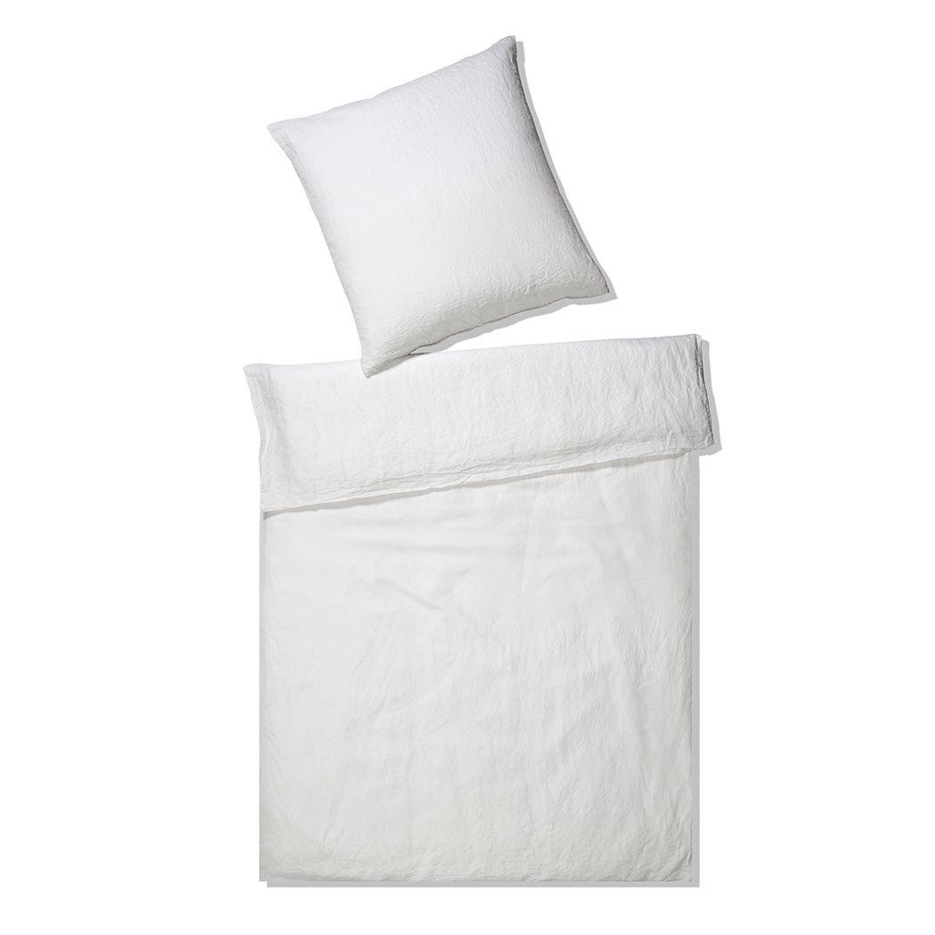 elegante leinen bettw sche breeze weiss g nstig online. Black Bedroom Furniture Sets. Home Design Ideas