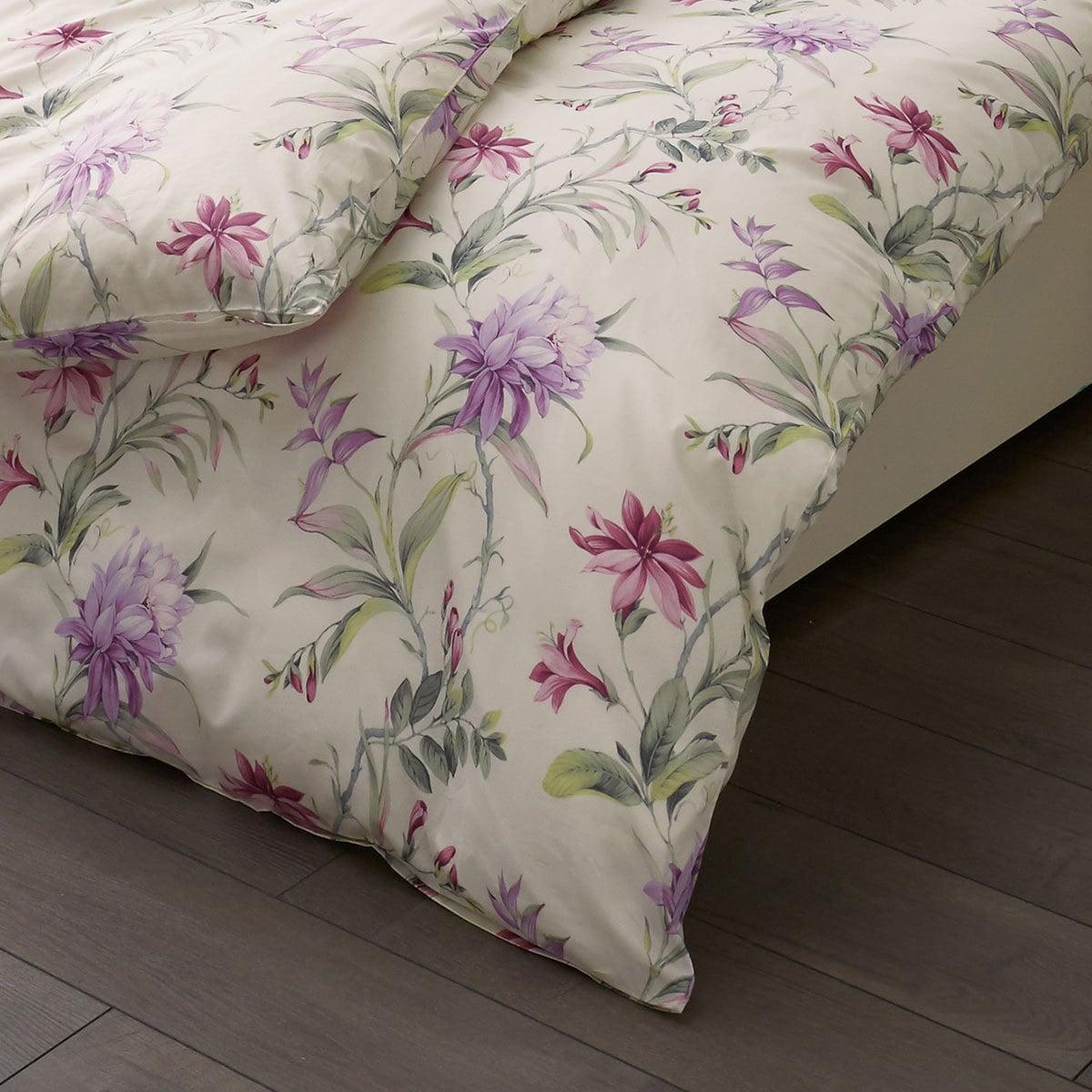 estella mako batist bettw sche nerja violett g nstig online kaufen bei bettwaren shop. Black Bedroom Furniture Sets. Home Design Ideas