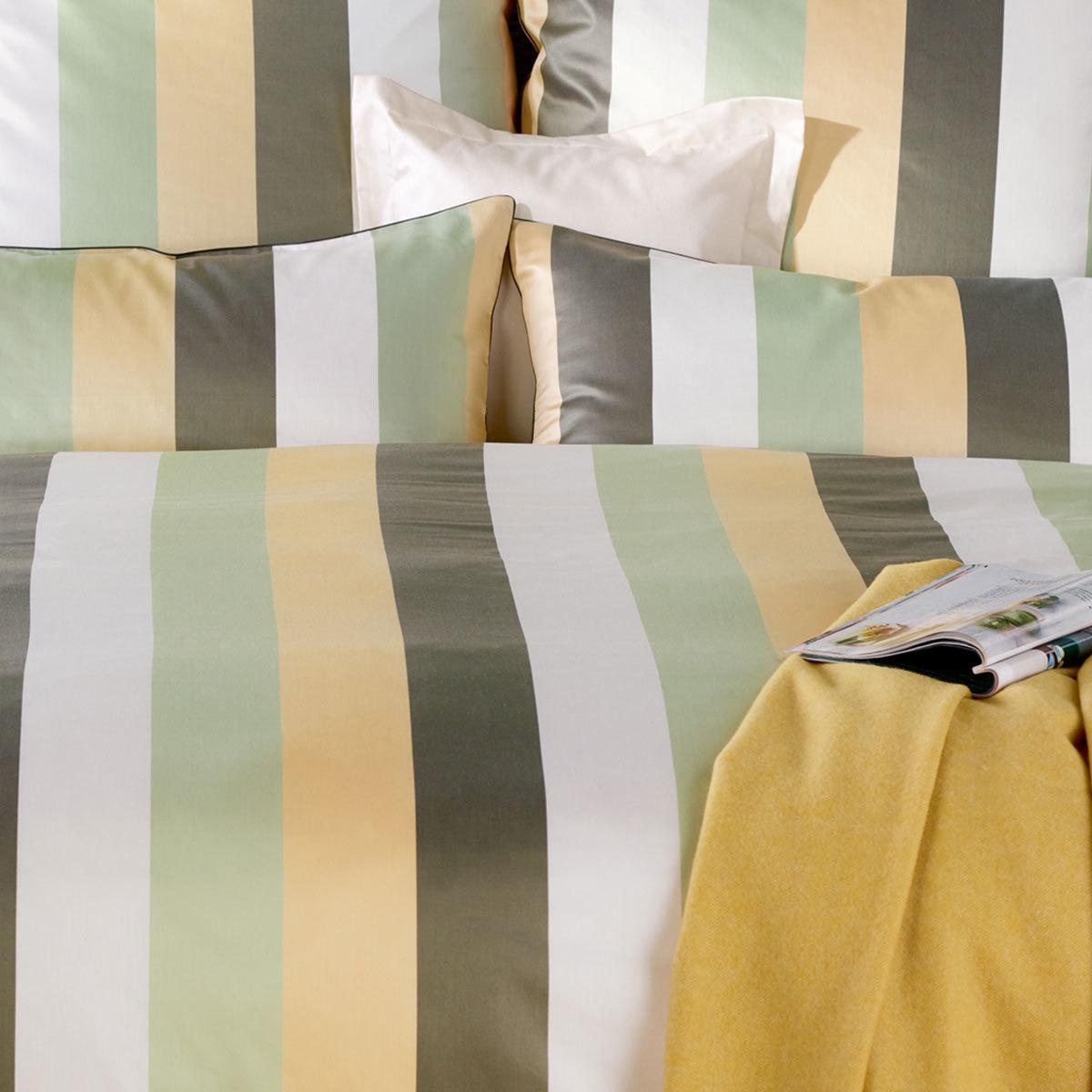 curt bauer mako brokat damast bettw sche montpellier jade gelb g nstig online kaufen bei. Black Bedroom Furniture Sets. Home Design Ideas