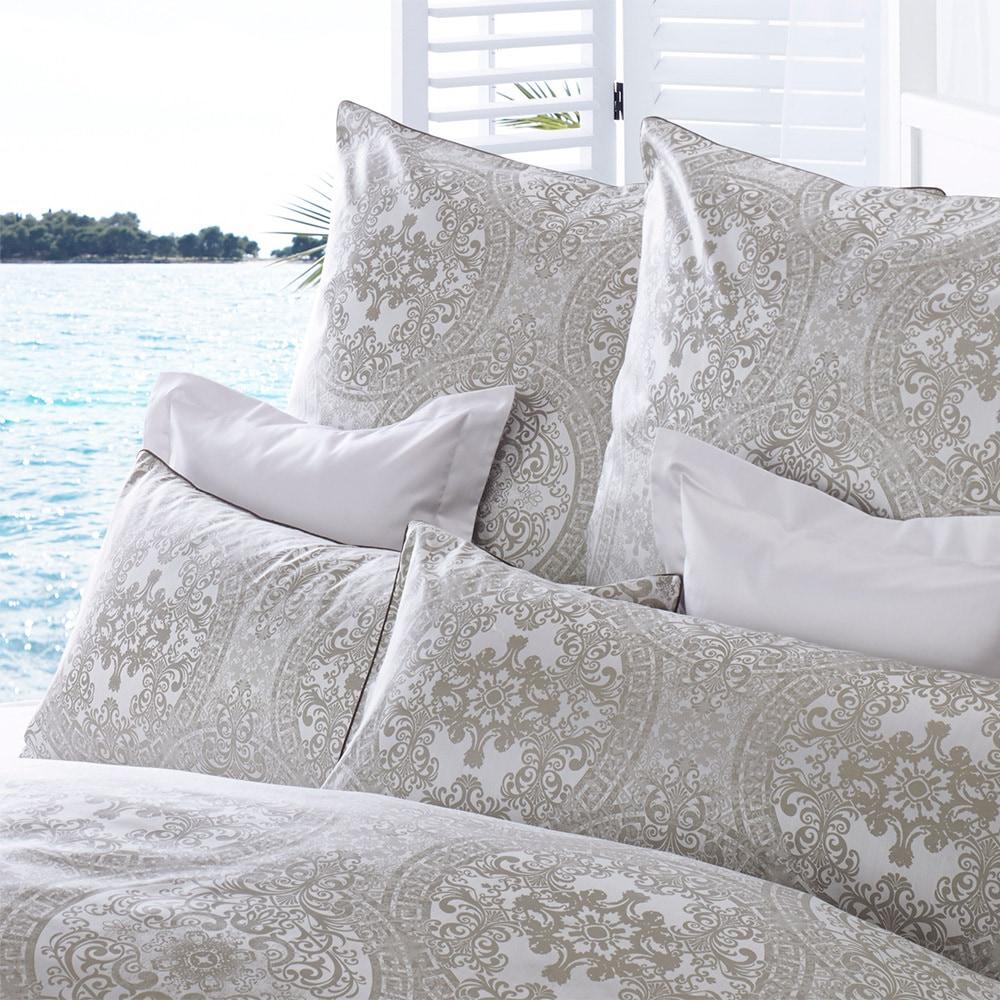 curt bauer mako brokat damast bettw sche odyssa muschel. Black Bedroom Furniture Sets. Home Design Ideas
