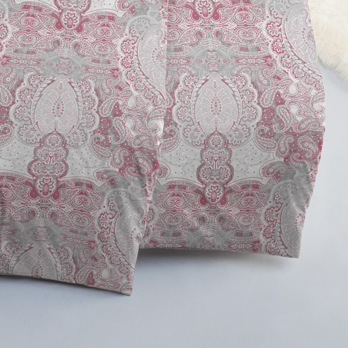 estella mako interlock jersey bettw sche 6217 405 vino. Black Bedroom Furniture Sets. Home Design Ideas