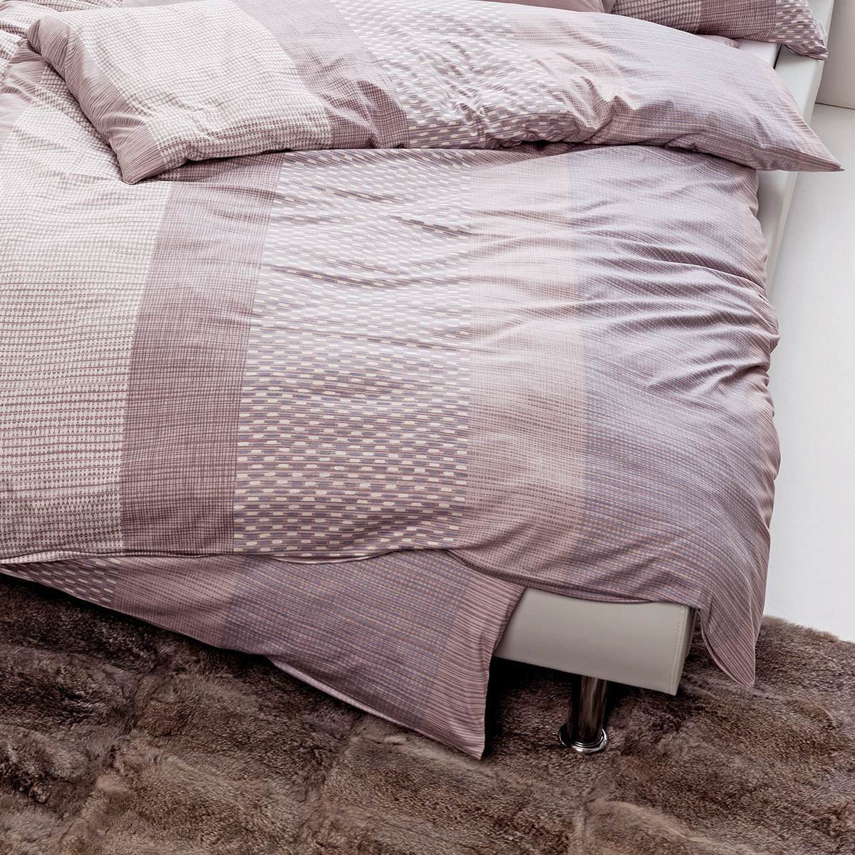estella mako interlock jersey bettw sche jona mauve. Black Bedroom Furniture Sets. Home Design Ideas