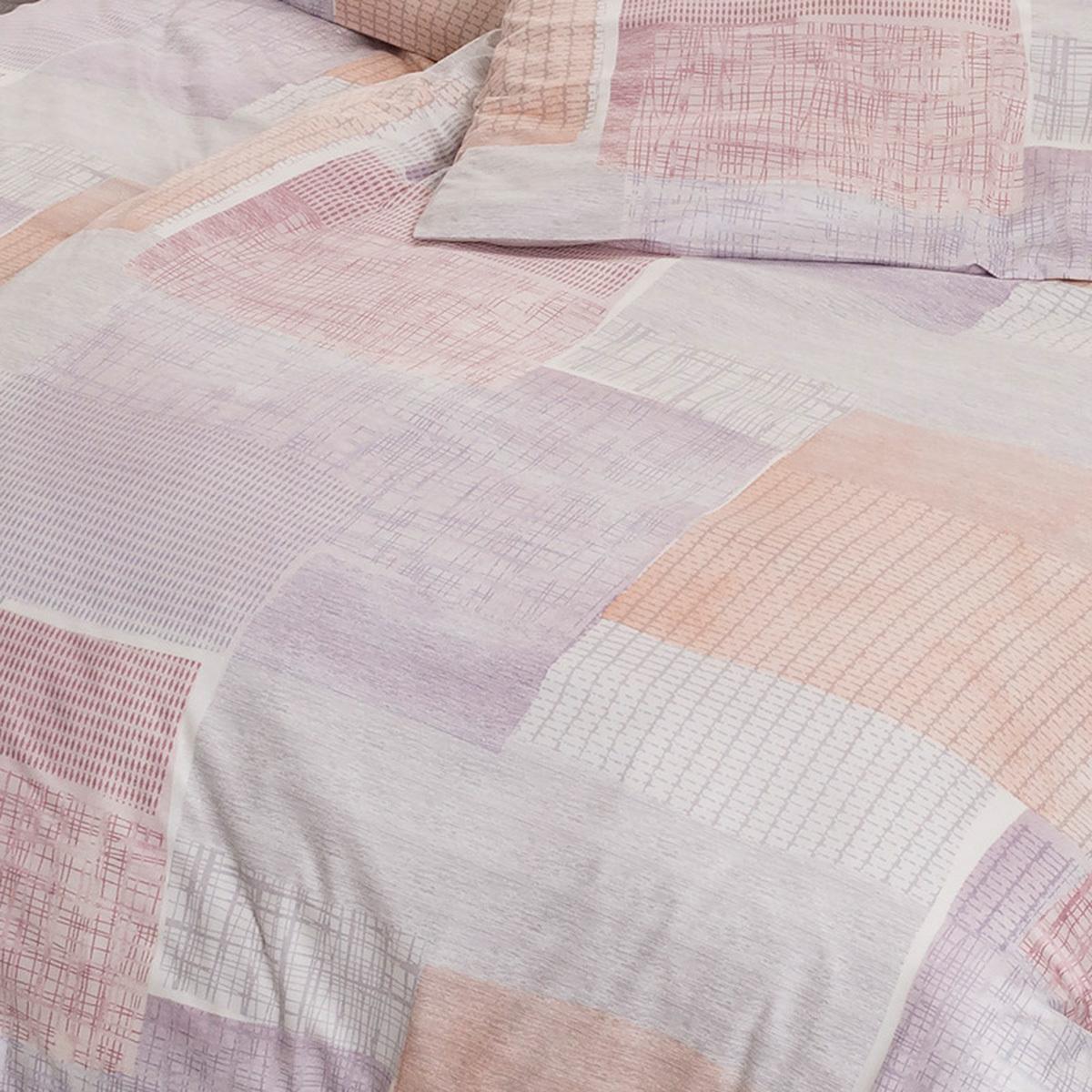 estella mako interlock jersey bettw sche milos flieder g nstig online kaufen bei bettwaren shop. Black Bedroom Furniture Sets. Home Design Ideas