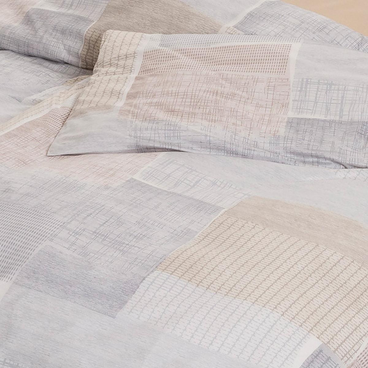estella mako interlock jersey bettw sche milos sand g nstig online kaufen bei bettwaren shop. Black Bedroom Furniture Sets. Home Design Ideas