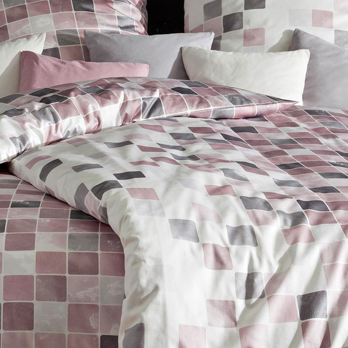 estella mako interlock jersey bettw sche yanic burgund. Black Bedroom Furniture Sets. Home Design Ideas